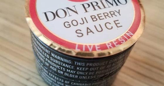 Don Primo - Live Resin Sauce - Goji Berry