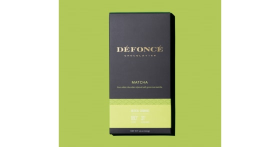 Defonce Chocolatier - Matcha Chocolate Bar - 90mg