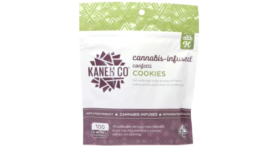 Kaneh Co - Confetti Cookies - 100mg