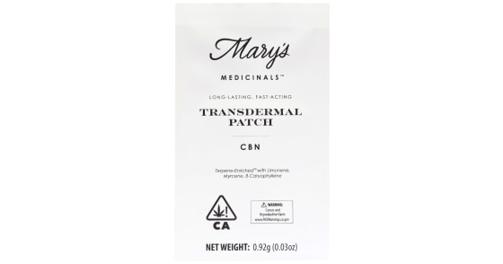 Mary's Medicinals - Patch - CBN