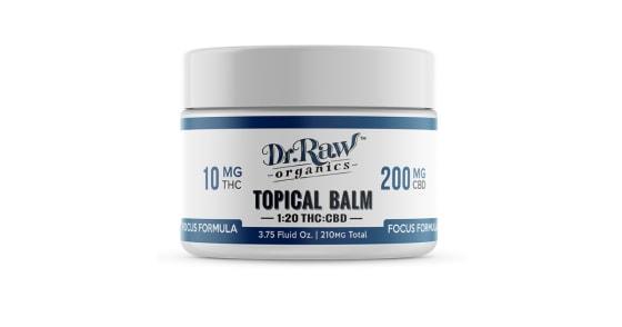 Dr. Raw Organics - Focus Formula CBD Balm - 3.75oz