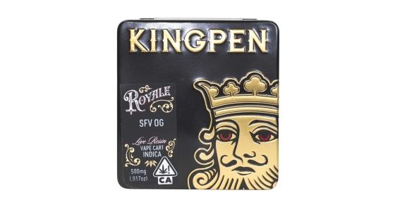 Kingpen Royale - SFV OG Live Resin Vape Cartridge - 0.5g