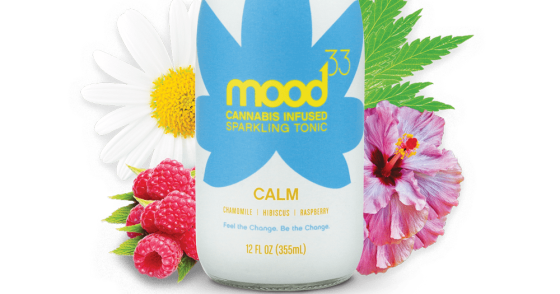 Mood 33 - Cannabis Infused Sparkling Tonic - Calm