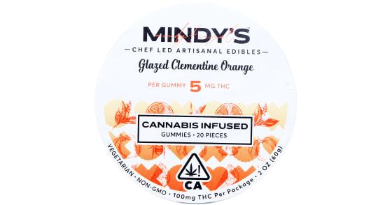 Mindy's - Glazed Clementine Orange Gummies - 100mg