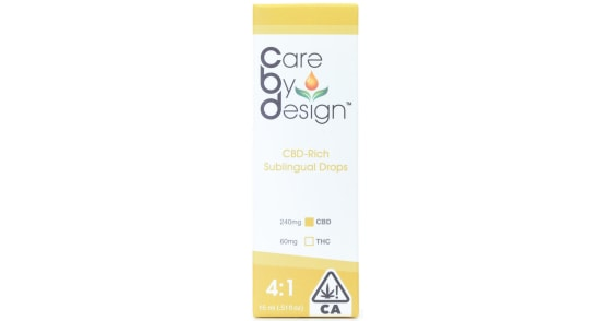 Care By Design - 4:1 Tincture - 15ml