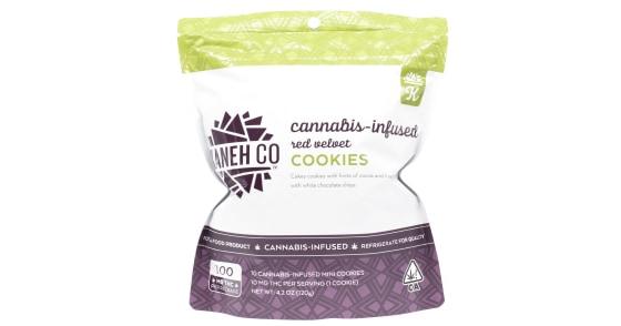 Kaneh Co - Red Velvet Cookies - 100mg