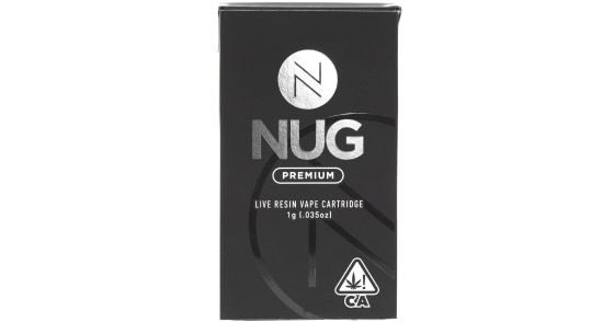 NUG - Strawberry Banana Live Resin Cartridge - 1g