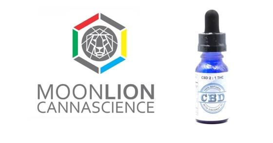 Moonlion - CBD 2:1 Tincture - 15ml
