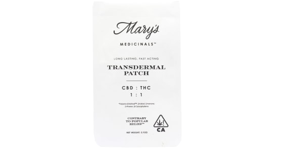 Mary's Medicinals - Patch - 1:1
