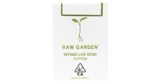 Raw Garden - Banana Smoothie Cartridge - 1g