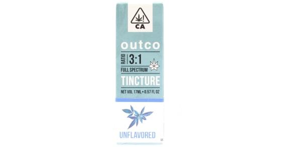 Outco - 3:1 Unflavored Tincture - 17ml