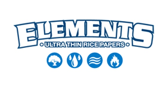 Elements - King Size Ultra Thin Rice Papers