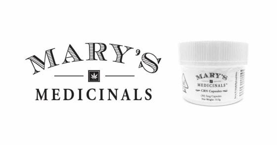 Mary's Medicinals - CBN Capsules - 30ct