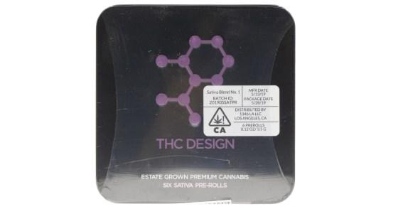 THC Design - Sativa Pre-Roll Tin - 3.5g