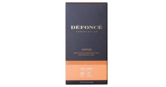 Defonce Chocolatier - Espresso Chocolate Bar - 90mg