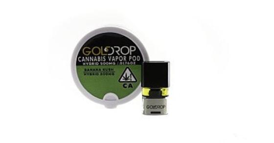 Gold Drop - Banana Kush - Black Standard Pax Pod - 0.5g