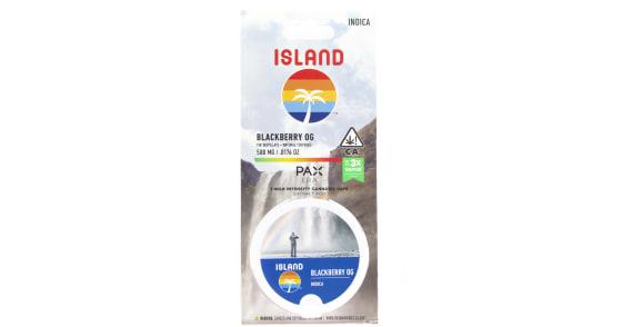 Island - Blackberry OG Pax Pod - 0.5g