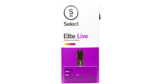 Select Elite - Gelato Live Resin Cartridge - 1g