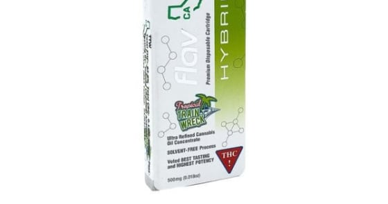 Flav - Cartridges - Train Wreck - 500 mg