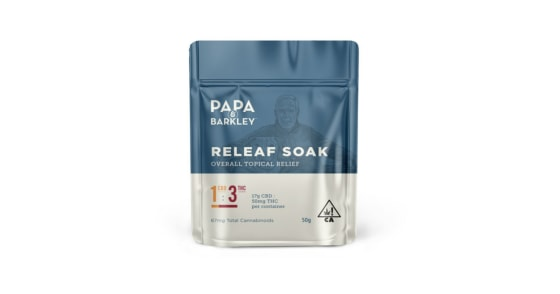 Papa & Barkley - Releaf Soak - 1:3 THC Rich