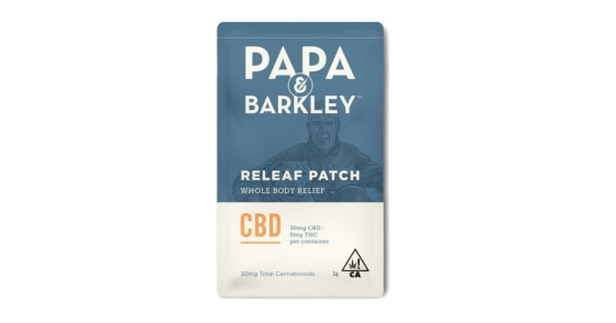Papa & Barkley - Releaf Patch - CBD