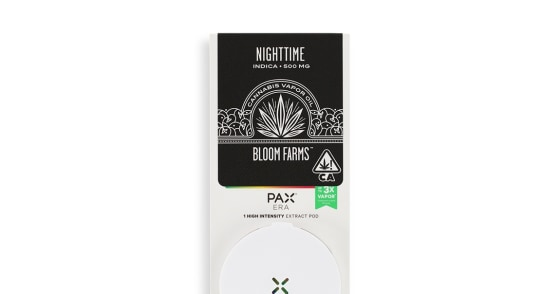 Bloom Farms - Pax Era Nighttime Indica - 0.5g