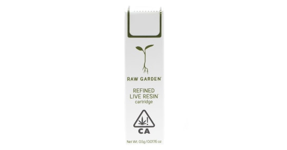 Raw Garden - Banana Slurm #8 Cartridge - 0.5g
