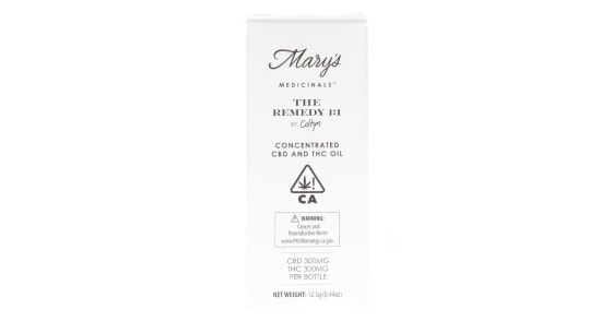 Mary's Medicinals - The Remedy 1:1 Tincture - 15ml