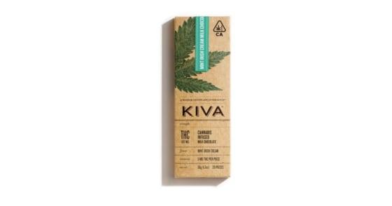 Kiva - Mint Irish Cream Milk Chocolate - 100mg