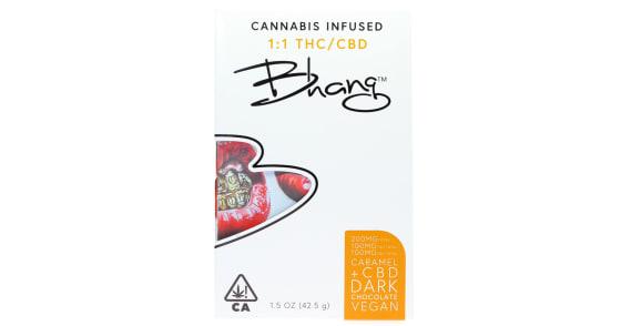 Bhang - CBD Caramel 1:1 Edible - 200mg