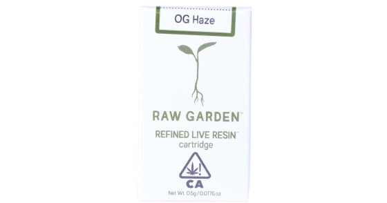 Raw Garden - OG Haze Cartridge - 0.5g