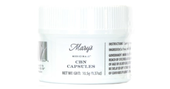 Mary's Medicinals - CBN Capsules - 30ct