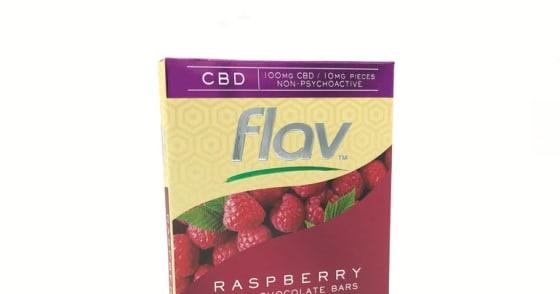 Flav - Raspberry - White Chocolate Bar