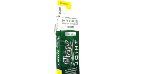 Flav - Joints Disposable - Banana Kush - 300 mg