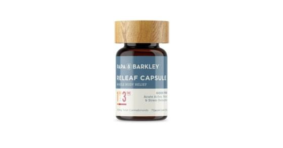 Papa & Barkley - Releaf Capsules 1:3 THC Rich - 30 Capsules