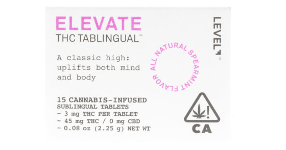 Level Blends - THC Tablinguals - 45mg
