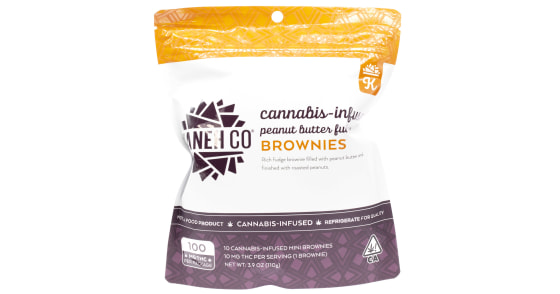 Kaneh Co - Peanut Butter Fudge Brownies - 100mg