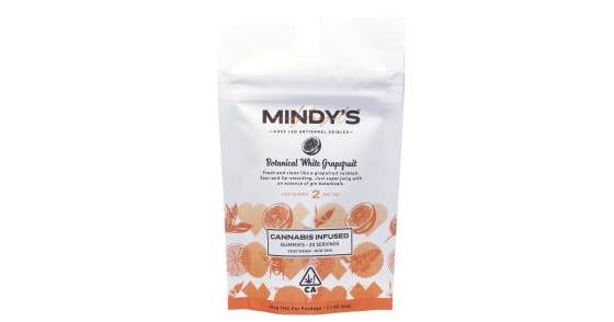 Mindy's - Botanical White Grapefruit Gummies - 40mg