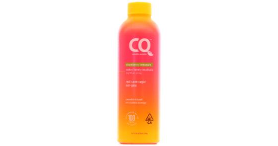 Cannabis Quencher - Strawberry Lemonade - 16oz