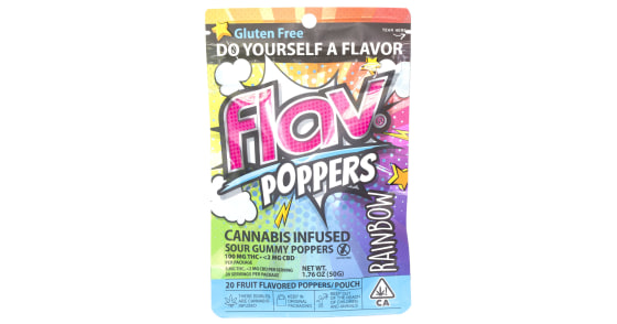 Flav - Rainbow THC Poppers - 100mg