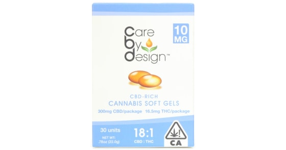 Care By Design - 30 Soft Gels 18:1 - 20mg Extra Strength