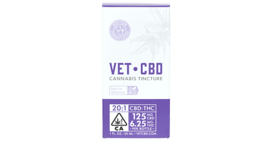 Vet CBD - 125mg Tincture - 30ml