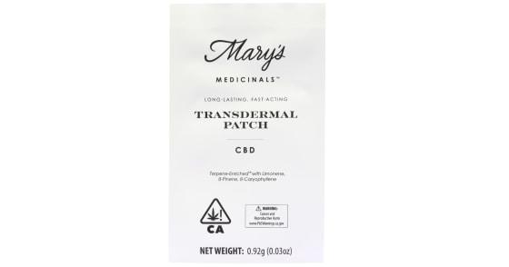 Mary's Medicinals - Patch - CBD
