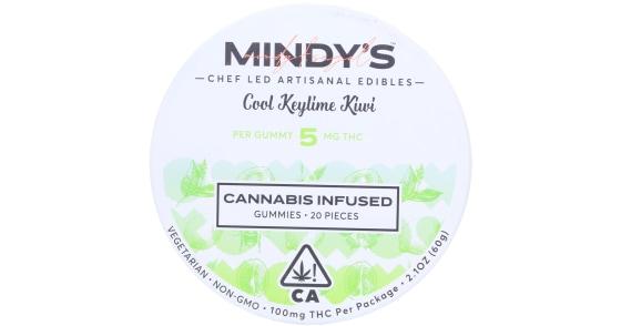 Mindy's - Cool Keylime Kiwi Gummies - 100mg