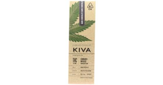 Kiva - Dark Chocolate Bar - 100mg
