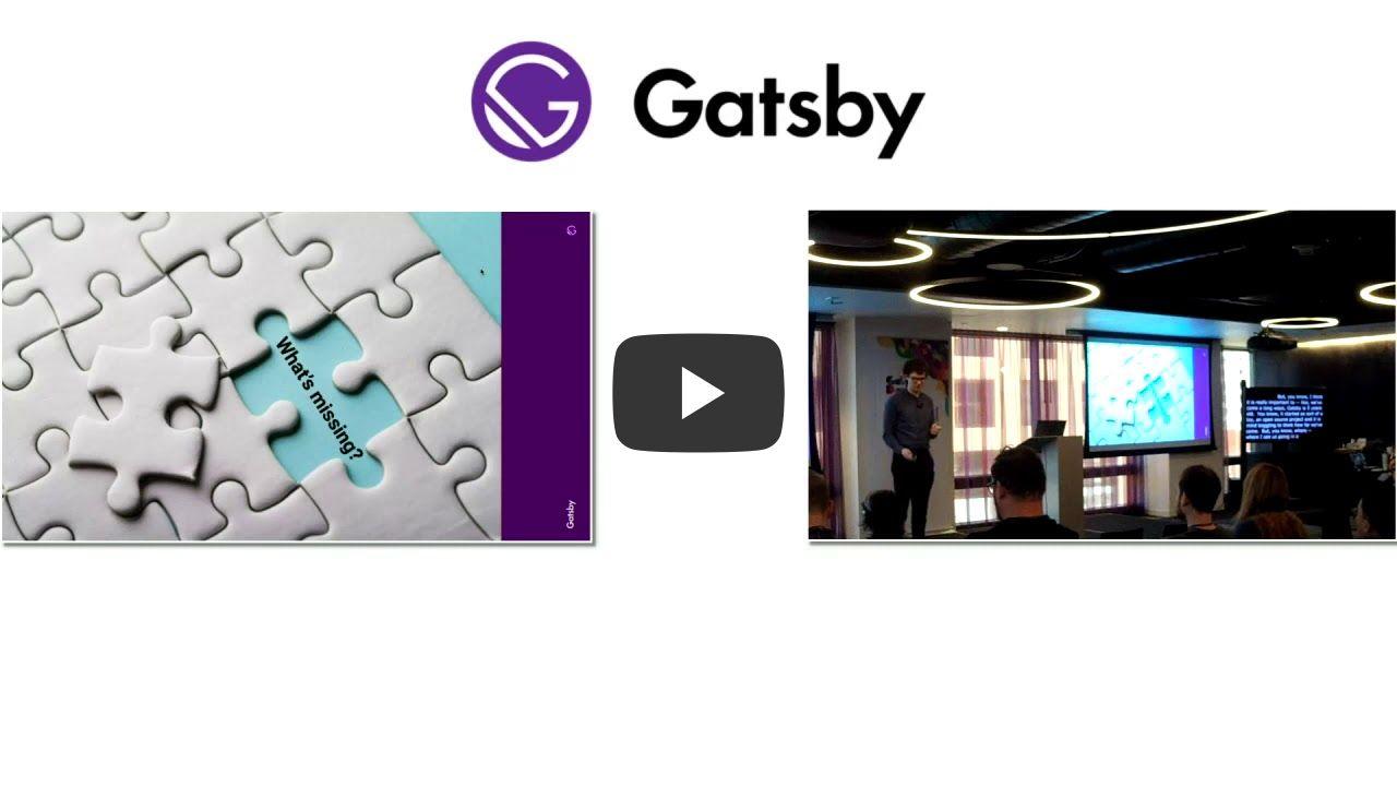 Gatsby Days Los Angeles: Kickoff/Keynote video