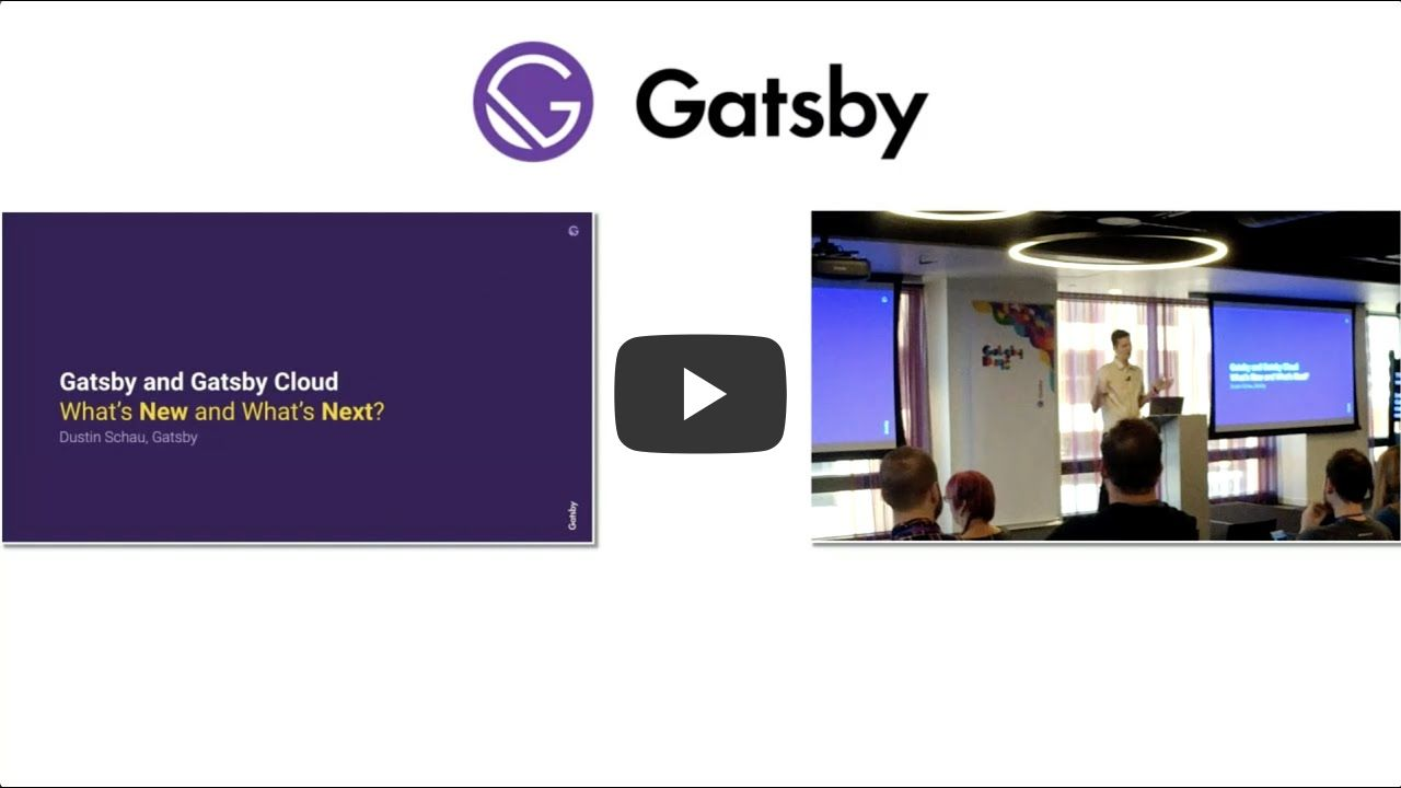 Gatsby Days LA Video 2: What's next for Gatsby and Gatsby Cloud
