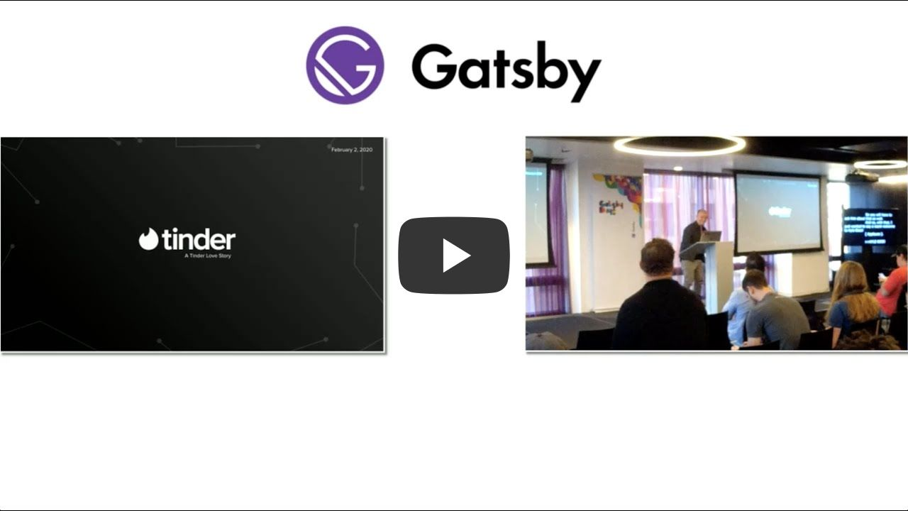 Gatsby Days LA Video 5: How Tinder Used Gatsby to Build a WordPress Site in React (Instead of PHP)