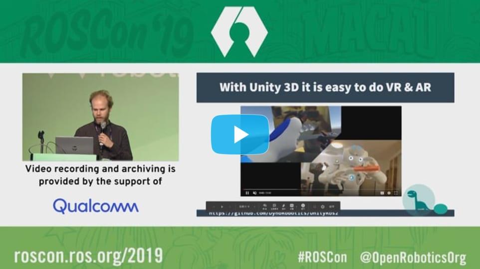 ROSCon 2019 Macau: Unity for ROS2