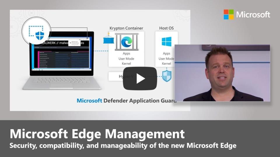 Microsoft Edge : Sécurité, compatibilité et gestion des mises à jour en profondeur (Chromium | 2020)